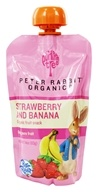 Peter Rabbit Organics - Organic Fruit Snack 100% Pure Strawberry and Banana - 4 oz., from category: Health Foods