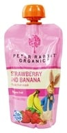 Peter Rabbit Organics - Organic Fruit Snack 100% Pure Strawberry and Banana - 4 oz. - $1.39