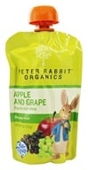 Peter Rabbit Organics - Organic Fruit Snack 100% Pure Apple and Grape - 4 oz. (815367010087)