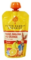 Peter Rabbit Organics - Organic Fruit Snack 100% Pure Mango, Banana and Orange - 4 oz. (815367010124)