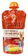Peter Rabbit Organics - Veg and Fruit Puree 100% Sweet Potato, Corn and Apple - 4.4 oz. (815367010049)