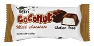 Oskri - Mini Coconut Bar Gluten-Free Milk Chocolate - 0.88 oz., from category: Nutritional Bars