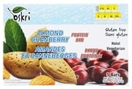 Oskri - Protein Bar Gluten-Free Almond and Cranberry - 5 Bars (666016400540)