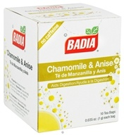 Image of Badia - Chamomile & Anise Tea - 10 Tea Bags CLEARANCE PRICED