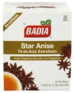Badia - Star Anise Tea Caffeine Free - 10 Tea Bags, from category: Teas