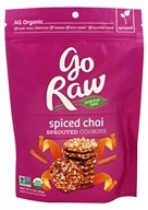 Go Raw - Sprouted Cookies Spiced Chai - 3 oz. LUCKY PRICE