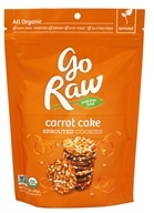 Go Raw - Sprouted Cookies Carrot Cake - 3 oz. LUCKY PRICE