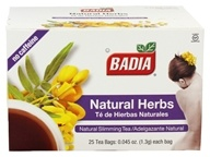 Badia - Natural Herbs Natural Slimming Tea Caffeine-Free - 25 Tea Bags, from category: Teas