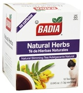 Badia - Natural Herbs Tea - 10 Tea Bags by Badia