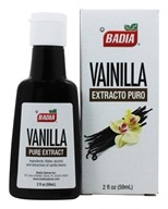 Badia - Pure Vanilla Extract - 2 oz. (033844000165)