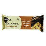 NuGo Nutrition - Slim Bar Roasted Peanut - 1.59 oz., from category: Nutritional Bars