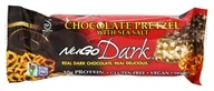 Image of NuGo Nutrition - Dark Bar Dark Chocolate Pretzel with Sea Salt Flavor - 1.76 oz.
