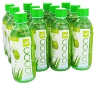 Image of ALO - Coco Exposed Pure Coconut Water + Real Aloe Vera Wheatgrass - 11.8 oz.