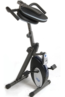 Image of Stamina Products - InTone Folding Cycle Fold Up Recumbent Bike 15-0201