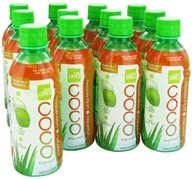 Image of ALO - Coco Exposed Pure Coconut Water + Real Aloe Vera Passion Fruit + Pineapple - 11.8 oz.