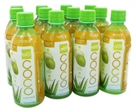 Image of ALO - Coco Exposed Pure Coconut Water + Real Aloe Vera Mangosteen + Mango - 11.8 oz.