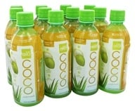 ALO - Coco Exposed Pure Coconut Water + Real Aloe Vera Mangosteen + Mango - 11.8 oz. (812475012026)