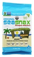 SeaSnax - Lightly Roasted and Seasoned Seaweed Grab & Go Pack Classic Olive - 0.18 oz.