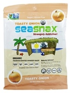 SeaSnax - Lightly Roasted and Seasoned Seaweed Toasty Onion - 5 Sheet(s)
