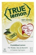 True Citrus - True Lemon Crystallized Lemon 32 x .8g Packets - 0.91 oz. (810979001256)