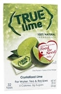 Image of True Citrus - True Lime Crystallized Lime 32 x .8g Packets - 0.91 oz.