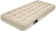 Pure Comfort - Twin Suede Top Air Bed with Built In Pump 6001TLB Tan