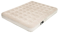 Image of Pure Comfort - Full Low Profile Suede Top Air Bed with Built In Pump 6002FLB Tan