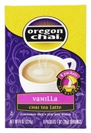 Oregon Chai - Vanilla Chai Tea Latte Mix - 8 Packet(s) (707082720085)