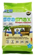 Image of SeaSnax - Premium Roasted Seaweed Snack Grab and Go Wasabi - 0.18 oz.
