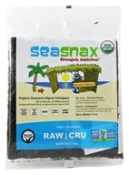 SeaSnax - Raw Raw Raw Unroasted Seaweed - 10 Sheet(s)