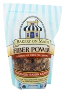 Bakery On Main - Fiber Power Granola Gluten Free Cinnamon Raisin - 12 oz. - $4.76