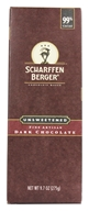 Image of Scharffen Berger - Baking Chocolate Bar 99% Cacao Unsweetened - 9.7 oz.