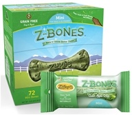 Image of Zuke's - Z-Bones Natural Edible Dental Chews Mini Clean Apple Crisp - 0.5 oz.