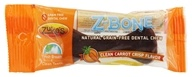 Image of Zuke's - Z-Bones Natural Edible Dental Chews Regular Clean Carrot Crunch - 1.5 oz.