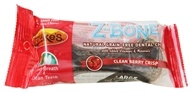 Image of Zuke's - Z-Bones Natural Edible Dental Chews Large Clean Cherry Berry - 2.5 oz.