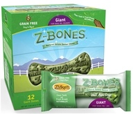 Zuke's - Z-Bones Natural Edible Dental Chews Giant Clean Apple Crisp - 5.25 oz. CLEARANCE PRICED