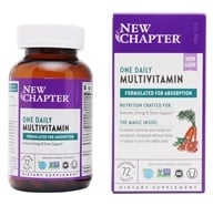 New Chapter - Only One Whole-Food Multivitamin with Multi-Mineral Formula - 72 Tablets (727783003607)