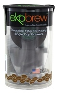 Ekobrew - Reusable K-Cup Coffee Filter for Keurig Single Cup Brewers - 1 Filter(s) (852748003061)