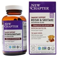 New Chapter - Lifeshield Immune Support - 120 Vegetarian Capsules