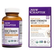 New Chapter - Bone Strength Take Care Tiny Tabs - 120 Tablets - $22.17
