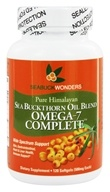 Seabuck Wonders - Sea Buckthorn Oil Blend Omega-7 Complete 500 mg. - 120 Softgels