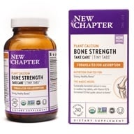 New Chapter - Bone Strength Take Care Tiny Tabs - 240 Tablets - $38.37