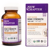Image of New Chapter - Bone Strength Take Care Tiny Tabs - 240 Tablets