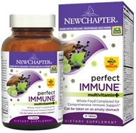 Image of New Chapter - Perfect Immune - 72 Tablets