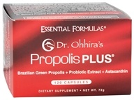 Essential Formulas - Dr. Ohhira's Propolis Plus - 120 Capsules, from category: Nutritional Supplements