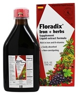 Flora - Floradix Iron + Herbs - 23 oz., from category: Vitamins & Minerals