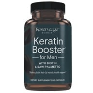 ReserveAge Organics - Keratin Booster for Men - 60 Vegetarian Capsules (094922015693)