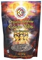 Earth Circle Organics - 100% Raw Balinese Cacao Nibs - 8 oz. (813313012406)