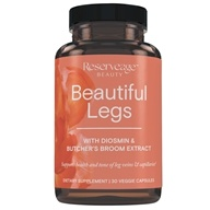 ReserveAge Organics - Beautiful Legs Advanced Diosmin Complex - 30 Vegetarian Capsules - $21.47