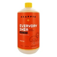 Everyday Shea - Moisturizing Shea Butter Bubble Bath Unscented - 32 oz., from category: Personal Care
